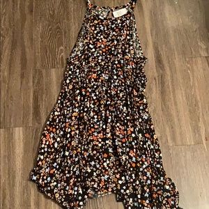 New torrid size 4 high low floral dress